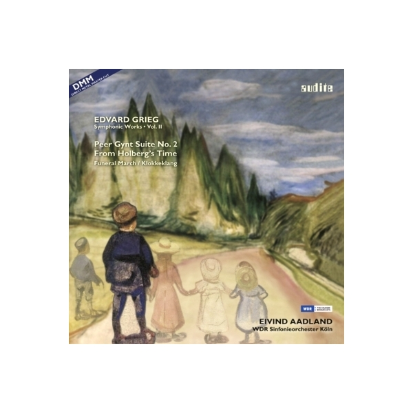 Grieg グリーグ / 『ペール・ギュント』第2組曲、ホルベルク組曲、他 オードラン&ケルン放送交響楽団【LP】
