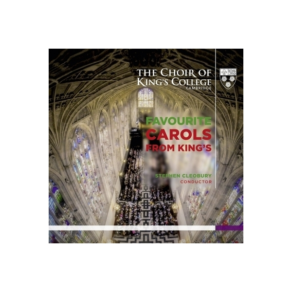 クリスマス / 『フェイヴァリット・キャロルズ・フロム・キングズ』 クレオベリー&キングズ・カレッジ合唱団【CD】