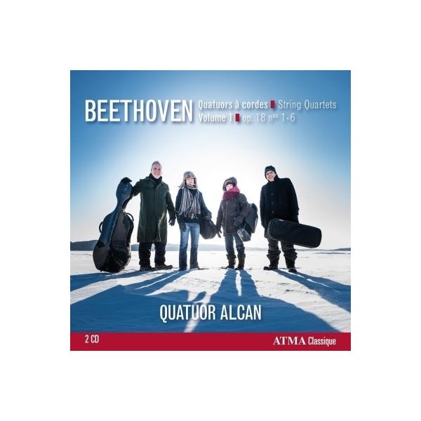 Beethoven ベートーヴェン / 初期弦楽四重奏曲集 アルカン四重奏団(2CD)【CD】