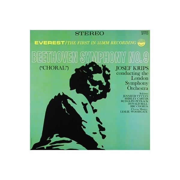 Beethoven ベートーヴェン / 交響曲第9番『合唱』 クリップス&ロンドン交響楽団(SACD)【SACD】