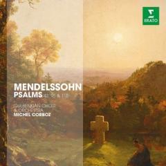 Mendelssohn メンデルスゾーン / 詩篇第42番、第95番、第115番 コルボ&グルベンキアン管弦楽団、グルベンキアン合唱団【CD】