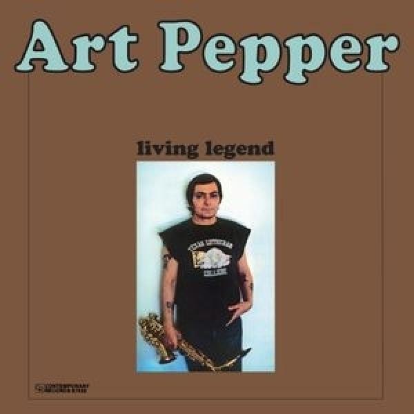 Art Pepper アートペッパー / Living Legend (180グラム重量盤)【LP】