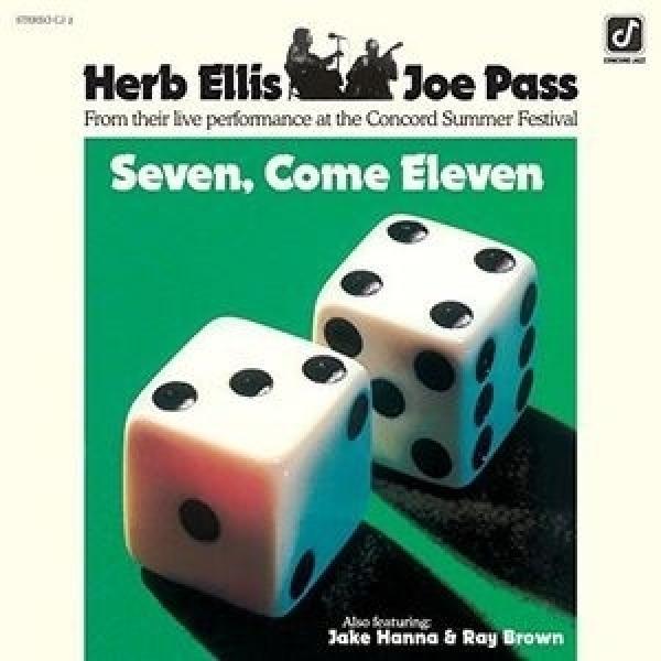 Herb Ellis / Joe Pass / Seven,  Come Eleven (180g)【LP】