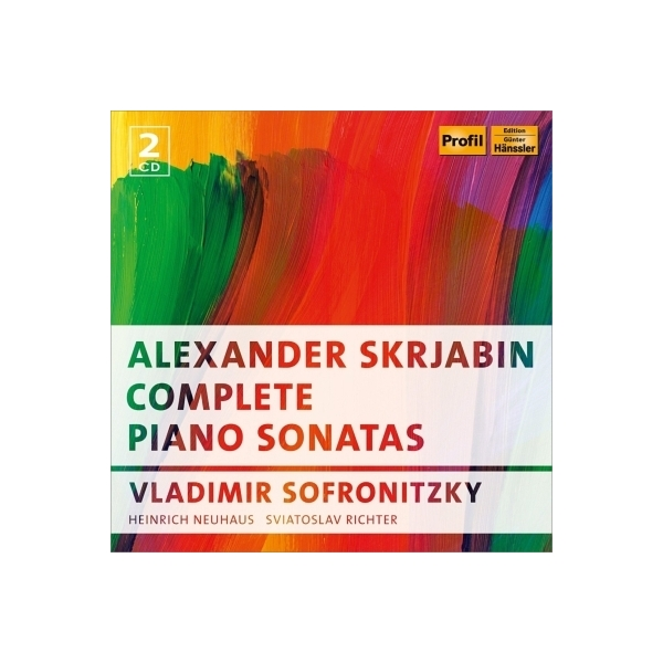Scriabin スクリャービン / ピアノ・ソナタ全集 ソフロニツキー、リヒテル、H.ネイガウス(2CD)【CD】