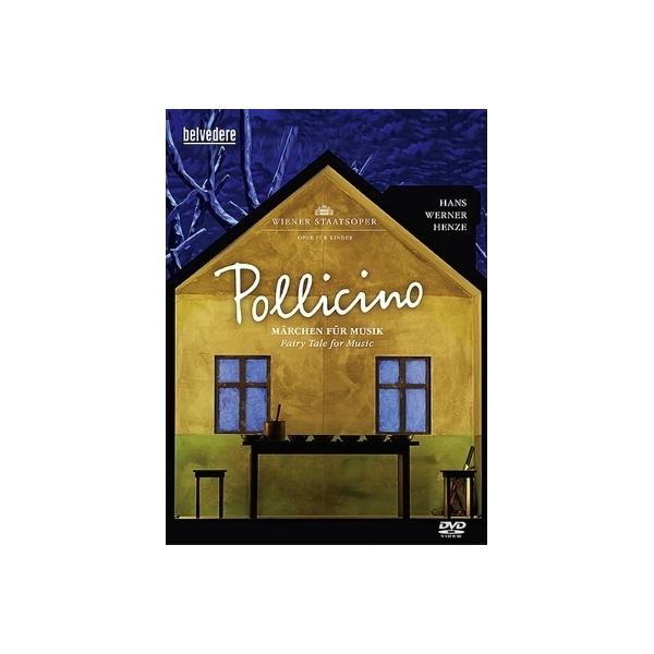 ヘンツェ(1926-2012) / オペラ『ポッリチーノ』全曲 ジステラー演出、プリースニッツ指揮、ウィーン国立歌劇場・子供のためのオペラ公演(2013 ステレオ)【DVD】