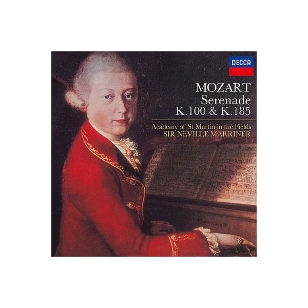 Mozart モーツァルト / セレナード第1番、第3番 マリナー&アカデミー室内管弦楽団【CD】