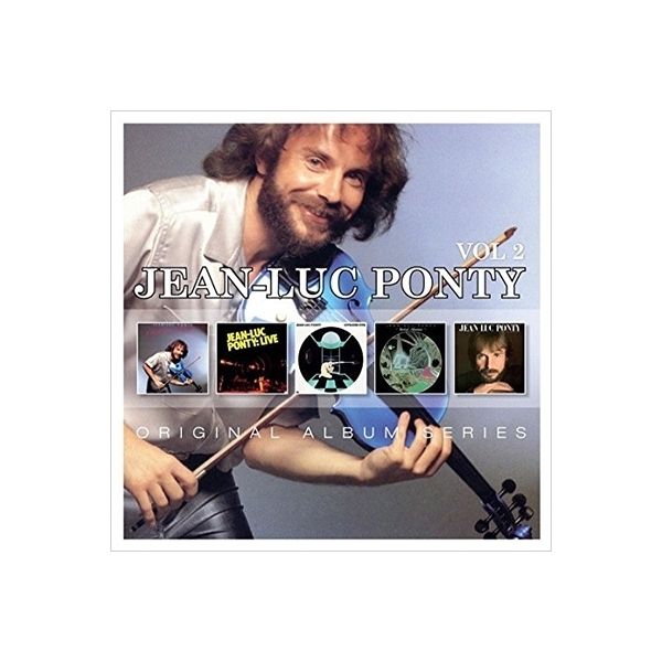 Jean-Luc Ponty ジャンリュックポンティ / Original Album Series Box Set Vol.2 (5CD)【CD】