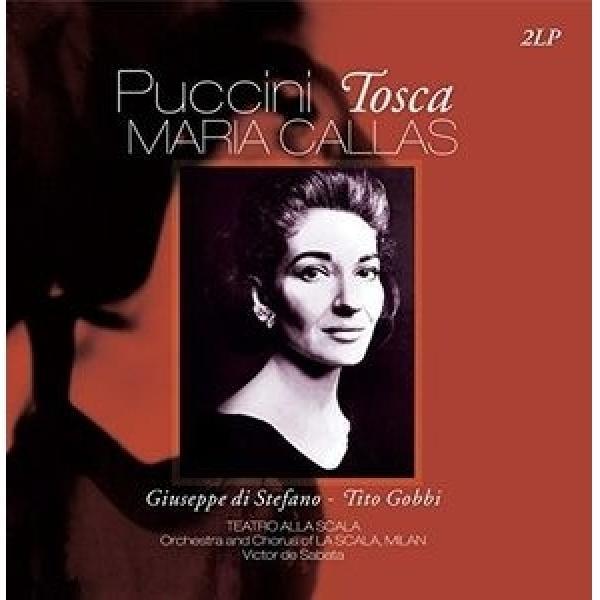 Puccini プッチーニ / Tosca:  De Sabata  /  Teatro Alla Scala Callas Di Stefano Gobbi【LP】