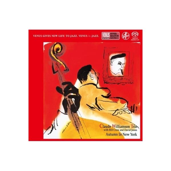 Claude Williamson クロードウイリアムソン / Autumn In New York:  ニューヨークの秋【SACD】