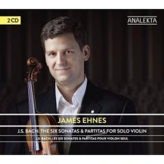 Bach, Johann Sebastian バッハ / 無伴奏ヴァイオリンのためのソナタとパルティータ全曲 ジェイムズ・エーネス(2CD)【CD】