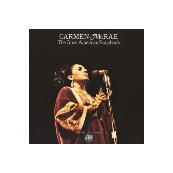 Carmen Mcrae カーメンマクレエ / Great American Songbook (高音質盤 / 2枚組 / 180グラム重量盤レコード / Pure Pleasure)【LP】
