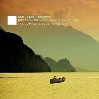 Brahms ブラームス / ブラームス: チェロ・ソナタ第2番、ヴァイオリン・ソナタ第2番(チェロ版)、シューベルト: ヴァイオリン・ソナタ(チェロ版) ピーター・ウィスペルウェイ、ジャコメッティ【CD】
