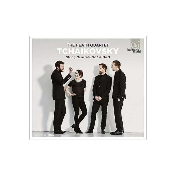 Tchaikovsky チャイコフスキー / 弦楽四重奏曲第1番、第3番 ヒース四重奏団【CD】