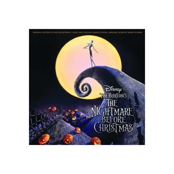 ナイトメア ビフォア クリスマス  / ナイトメアー・ビフォア・クリスマス Nightmare Before Christmas サウンドトラック (2枚組アナログレコード / Walt Disney)【LP】