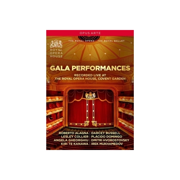 Opera Classical / 『ガラ・パフォーマンス~コヴェント・ガーデン・ロイヤル・オペラ・ライヴ1993、1996』(2DVD)【DVD】