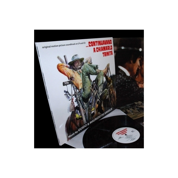 サウンドトラック(サントラ) / Continuavano A Chiamarlo Trinita (マカロニ・ウェスタン) (アナログレコード / CD付)【LP】