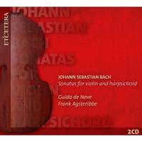 Bach, Johann Sebastian バッハ / ヴァイオリン・ソナタ全曲 グイード・デ・ネーヴェ、フランク・アグステリッベ(2CD)【CD】