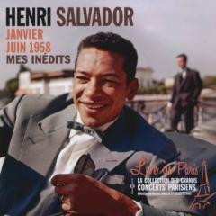 Henri Salvador アンリサルバドール / Live In Paris:  Mes Inedits - Janvier Juin 1958【CD】