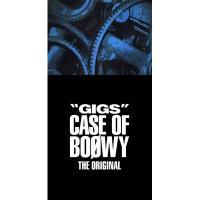 "BOΦWY (BOOWY) ボウイ / ""GIGS"" CASE OF BOφWY -THE ORIGINAL- 【完全限定盤スペシャルボックス】 (4CD+Tシャツ+ステッカー)【CD】"