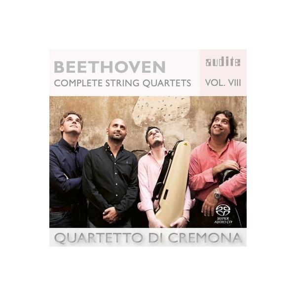 Beethoven ベートーヴェン / 弦楽四重奏曲第10番『ハープ』、第3番 クレモナ四重奏団【SACD】