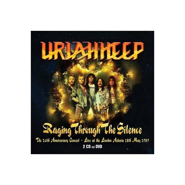 Uriah Heep ユーライアヒープ / Raging Through The Silence:  The 20th Anniversary Concert :  20th Anniversary Concert-live At The London Astoria 18th May 89【CD】