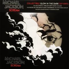 Michael Jackson マイケルジャクソン / Scream (Glow In The Dark Vinyl)  (暗闇で光る「蛍光」ヴァイナル仕様 / プラスチックタイプ特殊ジャケット / 2枚組アナログレコード)【LP】