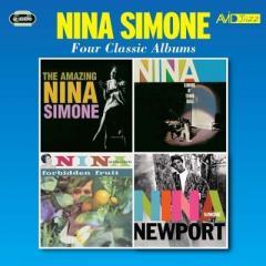 Nina Simone ニーナシモン / Four Classic Albums (2CD)【CD】