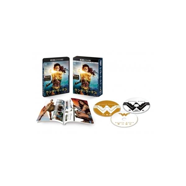 【初回仕様】ワンダーウーマン<4K ULTRA HD3D.2Dブルーレイセット>(3枚組  / ブックレット付)【BLU-RAY DISC】