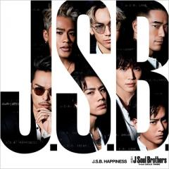 三代目 J Soul Brothers from EXILE TRIBE / J.S.B. HAPPINESS (+DVD)【CD Maxi】