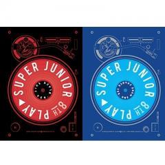 Super Junior スーパージュニア / 8集:  PLAY (ランダムカバー・バージョン)【CD】