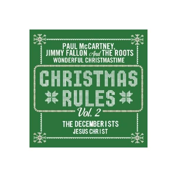 オムニバス(コンピレーション) / Christmas Rules Vol.2 (Paul McCartney  /  The Decemberists)  (グリーン・ヴァイナル仕様 / 7インチシングルレコード)【7inchシングル】