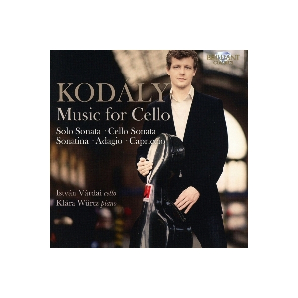 Kodaly コダーイ / Sonata For Cello Solo,  Cello Sonata,  Etc:  Vardai(Vc) Wurtz(P)【CD】