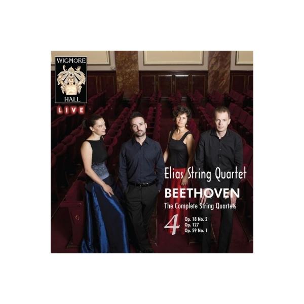 Beethoven ベートーヴェン / 弦楽四重奏曲第12番、第7番『ラズモフスキー第1番』、第2番 エリアス弦楽四重奏団(2CD)【CD】