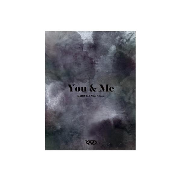 KARD / 2nd Mini Album:  You  &  Me【CD】