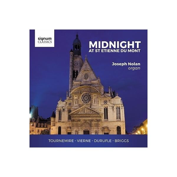 Organ Classical / 『ミッドナイト・アット・サン・テティエンヌ・デュ・モン~近代フランス・オルガン作品集』 ジョセフ・ノーラン【CD】
