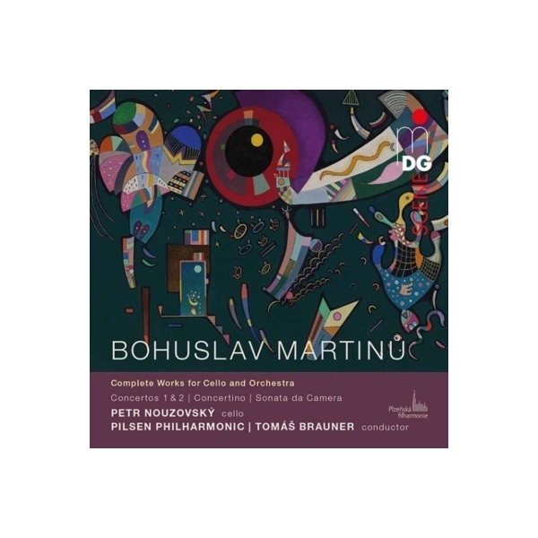 Martinu マルティヌー / チェロと管弦楽のための作品全集 ペトル・ノウゾフスキー、トマス・ブラウナー&ピルゼン・フィル(2CD)【CD】