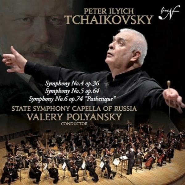 Tchaikovsky チャイコフスキー / 交響曲第4番、第5番、第6番『悲愴』 ワレリー・ポリャンスキー&ロシア国立交響楽団『シンフォニック・カペレ』(2015年東京ライヴ)(2CD)【CD】