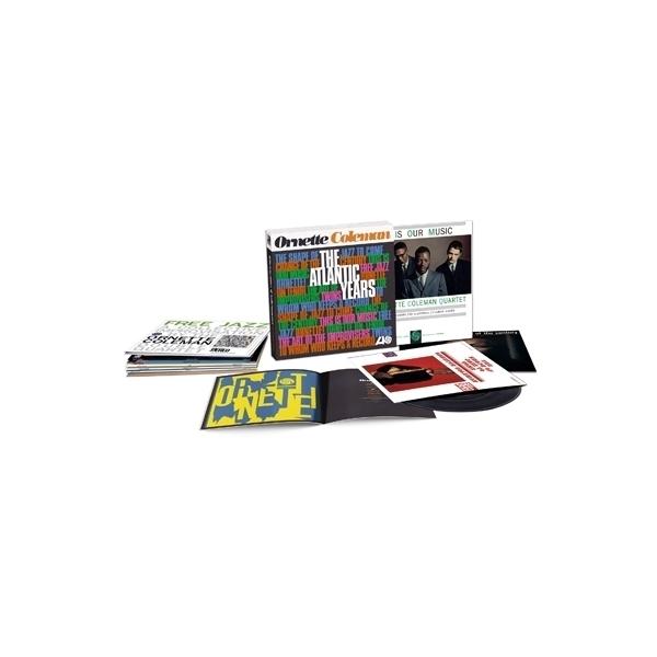 Ornette Coleman オーネットコールマン / THE ATLANTIC YEARS (BOX仕様 / 10枚組 / 180グラム重量盤レコード)【LP】