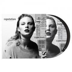 Taylor Swift テイラースウィフト / Reputation (ピクチャー仕様 / 2枚組アナログレコード / 6thアルバム)【LP】