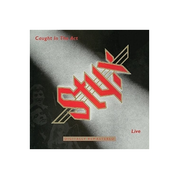 STYX スティックス / Caught In The Act Live【CD】