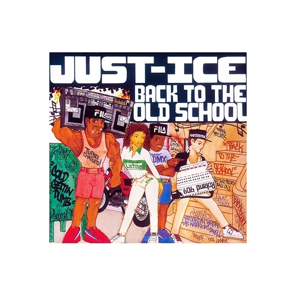 Just Ice / Back To The Old School+4 【CD】