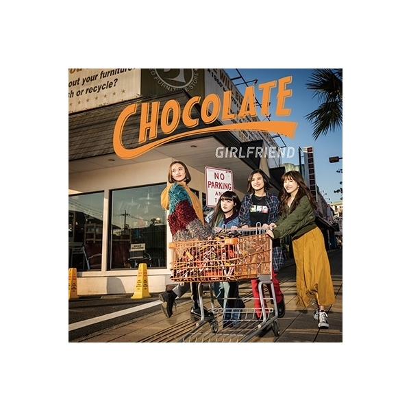 GIRLFRIEND / CHOCOLATE (+DVD)【CD】