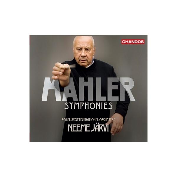 Mahler マーラー / 交響曲集 ネーメ・ヤルヴィ&ロイヤル・スコティッシュ・ナショナル管弦楽団(6CD)【CD】