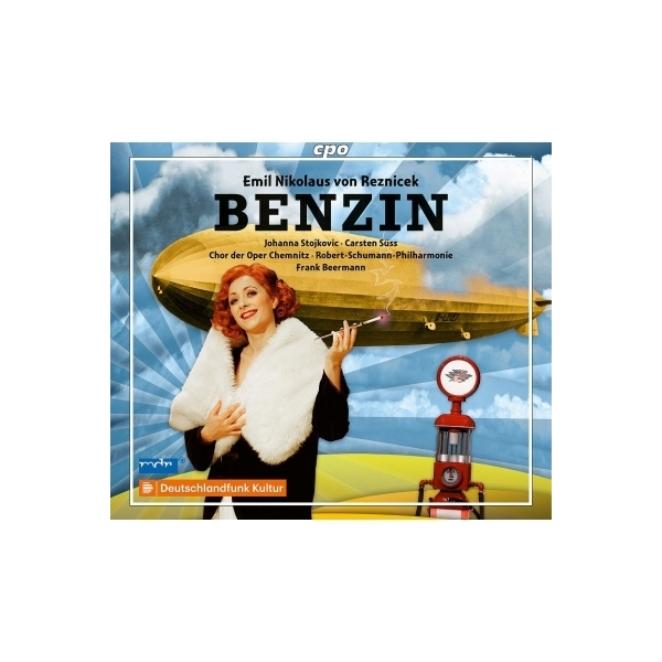 レズニチェク(1860-1945) / 歌劇『ガソリン』全曲 フランク・ベールマン&シューマン・フィル、ヨハンナ・ストイコヴィチ、カールステン・ジュス、他(2010 ステレオ)(2CD)【CD】