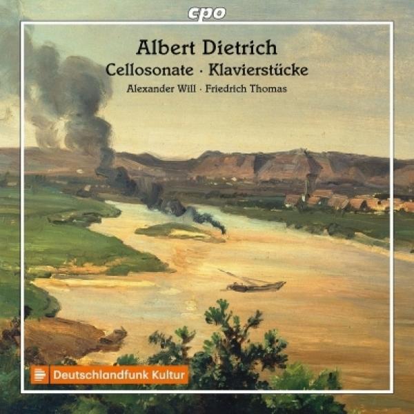 ディートリヒ、アルベルト(1829-1908) / チェロ・ソナタ、序奏とロマンス、ピアノ小品集 アレクサンダー・ヴィル、フリードリヒ・トーマス【CD】