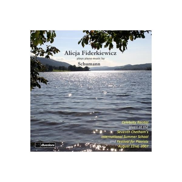 Schumann シューマン / ピアノ・ソナタ第1番、フモレスケ、3つのロマンス アリシア・フィデルキエヴィチ【CD】