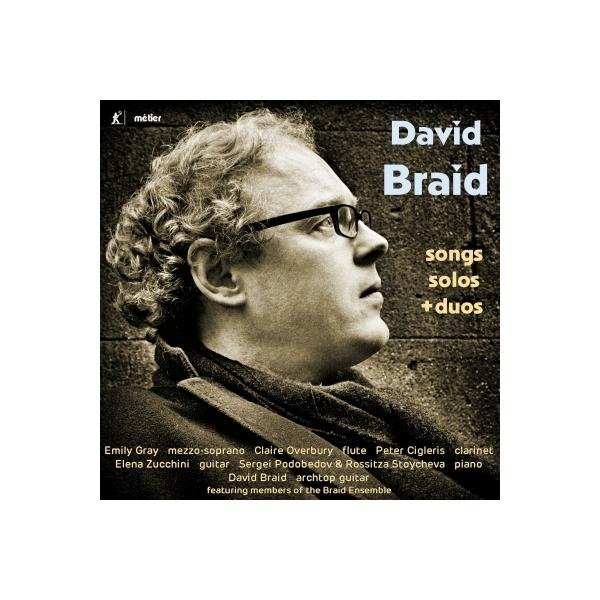 ブレイド、デイヴィッド(1970-) / 歌曲集、独奏曲&二重奏曲集 ブレイド・アンサンブル【CD】