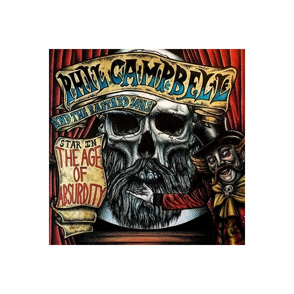 Phil Campbell And The Bastard Sons / Age Of Absurdity 【初回限定盤】 (CD+ライヴEP)【CD】