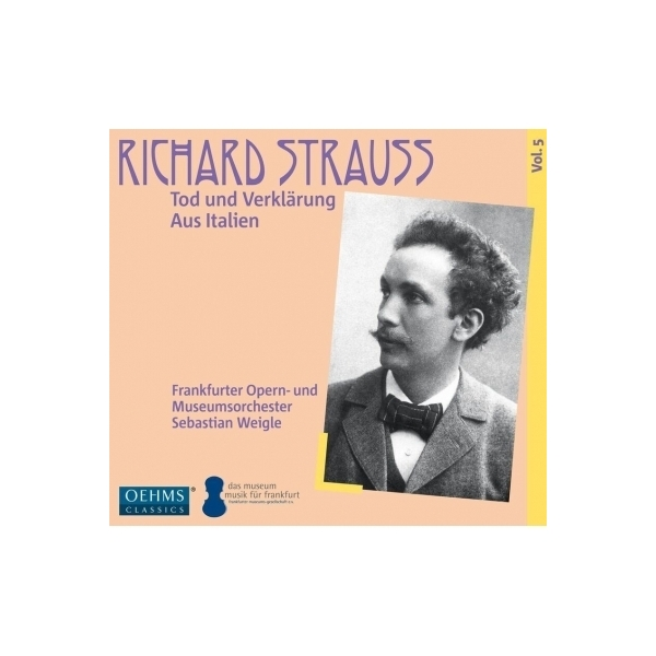 Strauss, R. シュトラウス / 『死と浄化』『イタリアより』 セバスティアン・ヴァイグレ&フランクフルト歌劇場管弦楽団【CD】