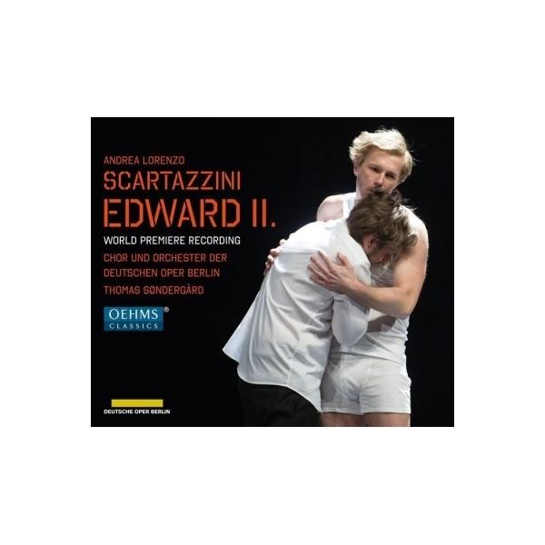 スカルタッツィーニ、アンドレア・ロレンツォ(1971-) / 歌劇『エドワード2世』全曲 トマス・セナゴー&ベルリン・ドイツ・オペラ、ミヒャエル・ナジ、ラディスワフ・エルグル、他(2017 ステレオ)(2CD)【CD】